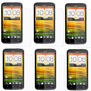 6 x LCD Screen Film Guard Protector For HTC ONE X S720e Free Shipping