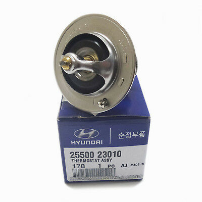 2550035540 Genuine Thermostat for Hyundai Santa Fe Optima Rondo 2.7L OEM