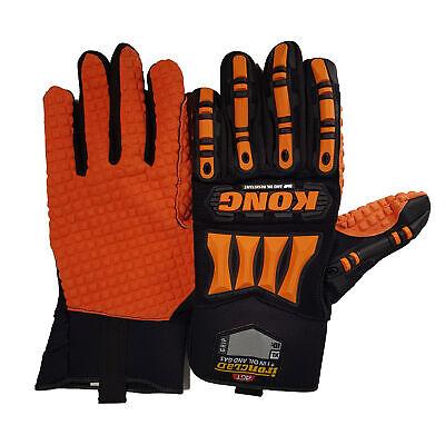 Ironclad Kong Slip And Oil Resistant Mechanics Gloves Xl