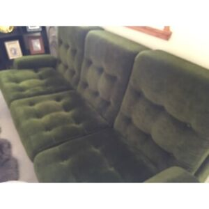 Retro lounge 3 seater two seater one seater xcellent condition bargain