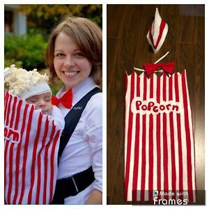 Babywearing Popcorn Halloween costume
