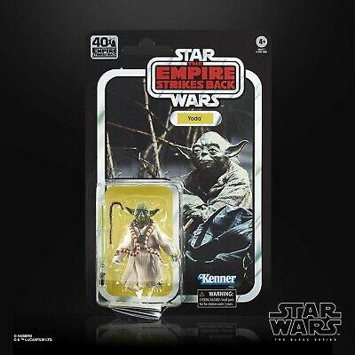 Star Wars Black Series 40th Anniversary Wave 1: Yoda (The Empire Strikes Back)
