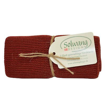 Solwang Paño Cocina Oscuro de la Marca Rojo Toalla Limpieza Diseño