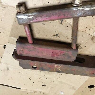 Farmall H Sh Drawbar Hitch Mounting Bracket  Right Side