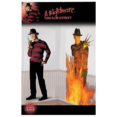 2 Halloween Freddy Krueger Elm Street Movie Party Scene Setter Decorations ()