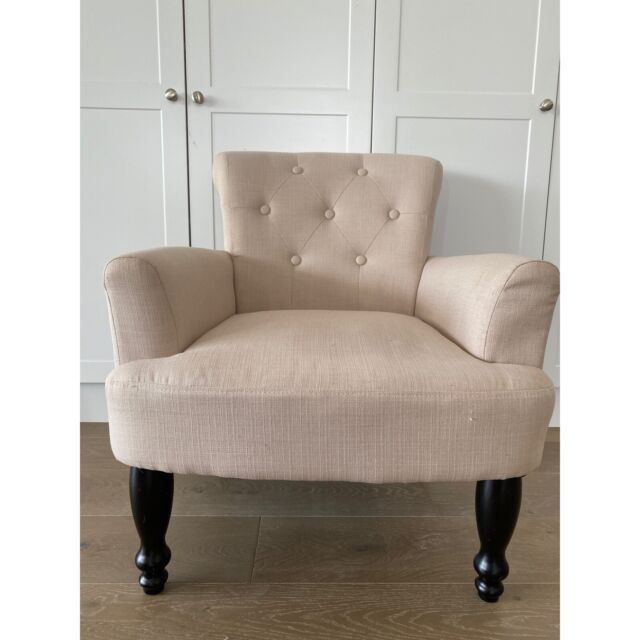 Gumtree Ballina Accent Chair: Cream Hamptons French Provincial Armchair Accent Chair