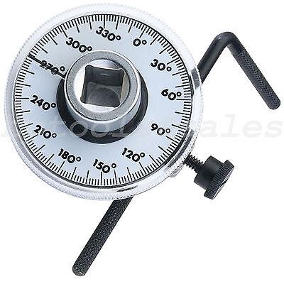 360° Torque Angle Gauge & Rotation Checker Measuring Gauge Meter 4 Torque Wrench