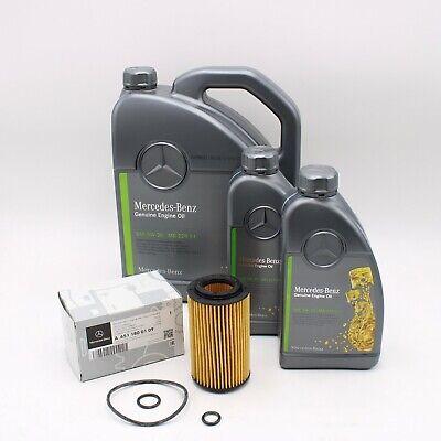 Original Mercedes Benz Motoröl 5W30 MB 229.51 7 Liter + Ölfilter A6511800109