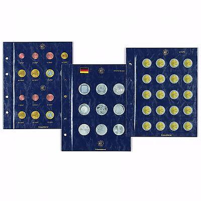 Leuchtturm VISTA Münzblätter für 10, 20 oder 25 EURO Münzen      Art: 353747