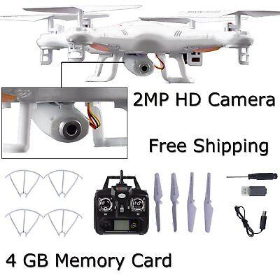 8GB Hot X5C-1 2MP HD Camera 2.4Ghz 6-Axis  UAV RTF UFO Gyro RC Quadcopter Drone