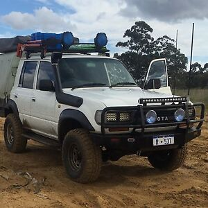 80 series landcruiser dual cab Kelmscott Armadale Area Preview