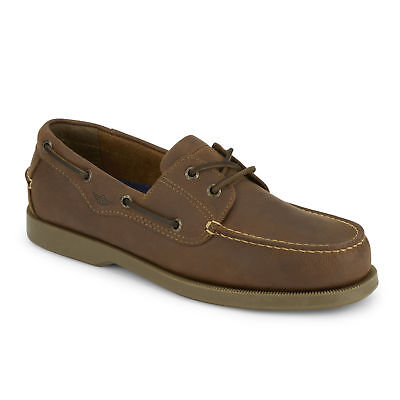 Dockers Mens Castaway Genuine Leather Casual Classic Rubber Sole Boat Shoe ()