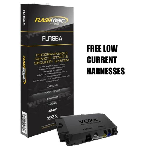 Flashlogic FLRSBA Remote Start Add On Module 3X LOCK Remote Start Alarm System