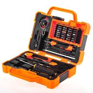 45 in 1 JM-8139 Screwdriver Set Repair Kit Opening Tools For Cellphone Computer