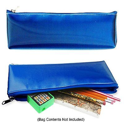 Color Changing Pencils (Lenticular Color-Changing Cool Futuristic Metallic Blue Pencil Case)