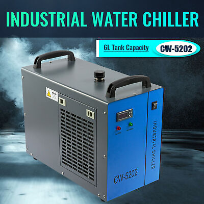 Industrial Water Chiller Cw-5202 For 60-150w Laser Engraving Cutting Machine