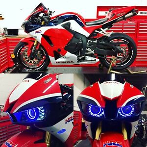 2013 and up CBR600RR headlight, fairings and akrapovic exhaust