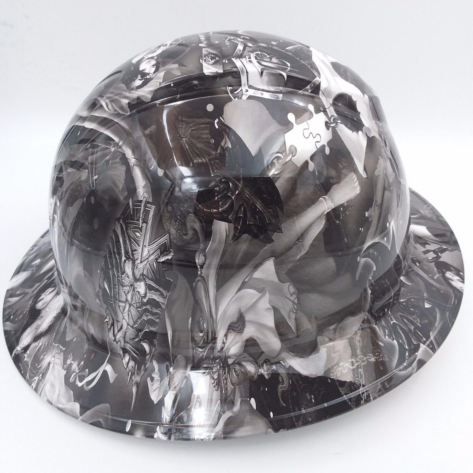 FULL BRIM Hard Hat custom hydro dipped , NEW FANTASY GIRLS SUPER HOT NEW  1