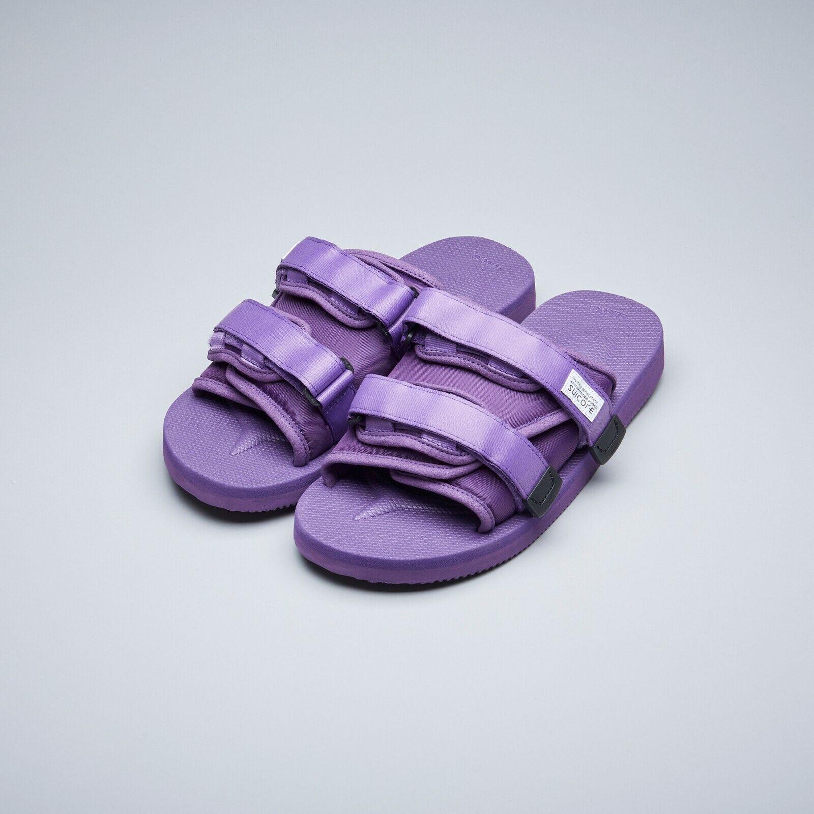 20c6dcfdc Suicoke SS19 OG-056Cab / MOTO-Cab Purple Nylon Antibacterial Sandals Slides
