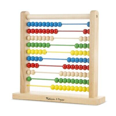 Classic Wooden Toy, Developmental Toy, Brightly-Colored Wooden Beads,