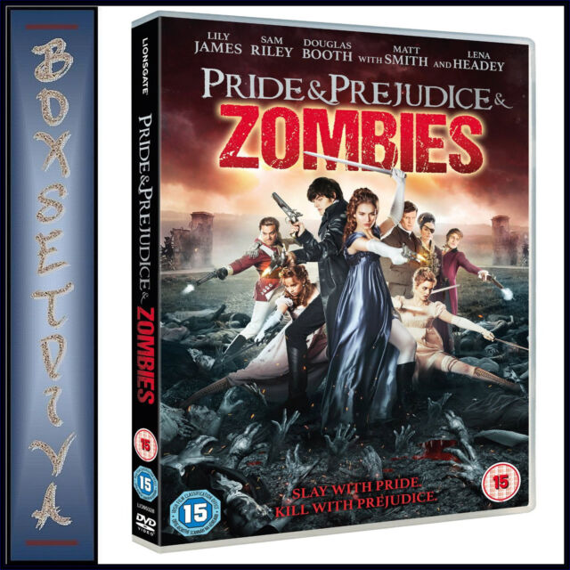 PRIDE & PREJUDICE & ZOMBIES - Lily James & Sam Riley  *BRAND NEW DVD***