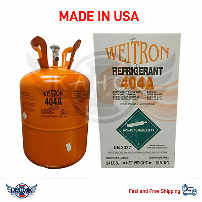R404a REFRIGERANT GAS   24LB - FACTORY SEALED *(MADE IN USA)*