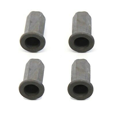 4 Fits Chevy Silverado GMC Sierra 07-13 Tailgate Cover Cap Nuts Hardware New