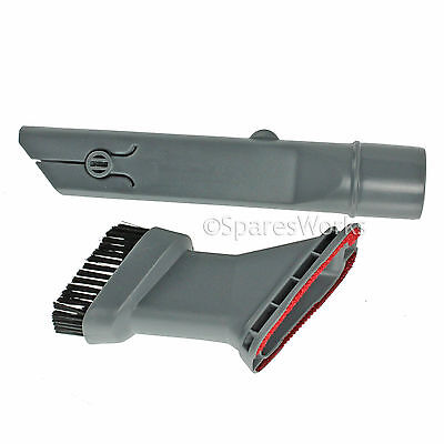 3 in 1 Crevice Tool Upholstery & Brush Nozzle for Russell Hobbs Vacuum Hoover