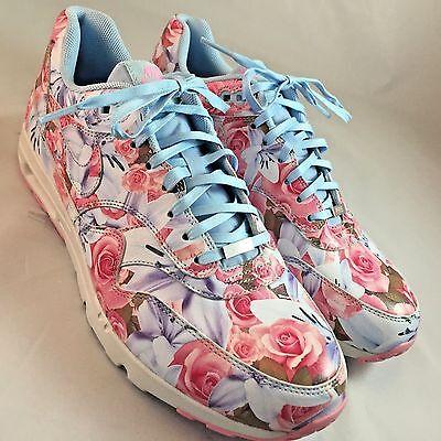 Nike Air-Max-1-Ultra-LOTC-QS-Paris-Tokyo-Floral 747105-400 Women Sz 10, 42 EUR