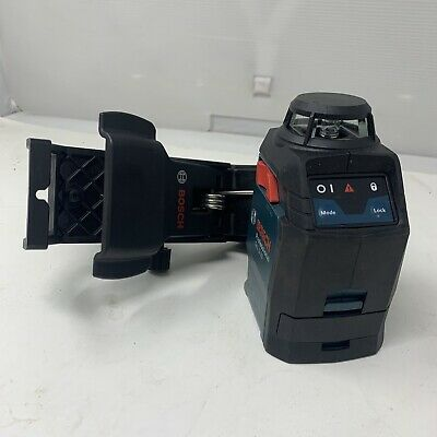 Bosch Gll 2-20 Cross Line Laser Level65 Ft. Gently Used Fast Shipping