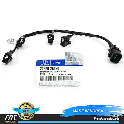 GENUINE Ignition Coil Wire Harness for 2006-2011 Accent Rio Rio5 OEM - Ignition Coil Wire