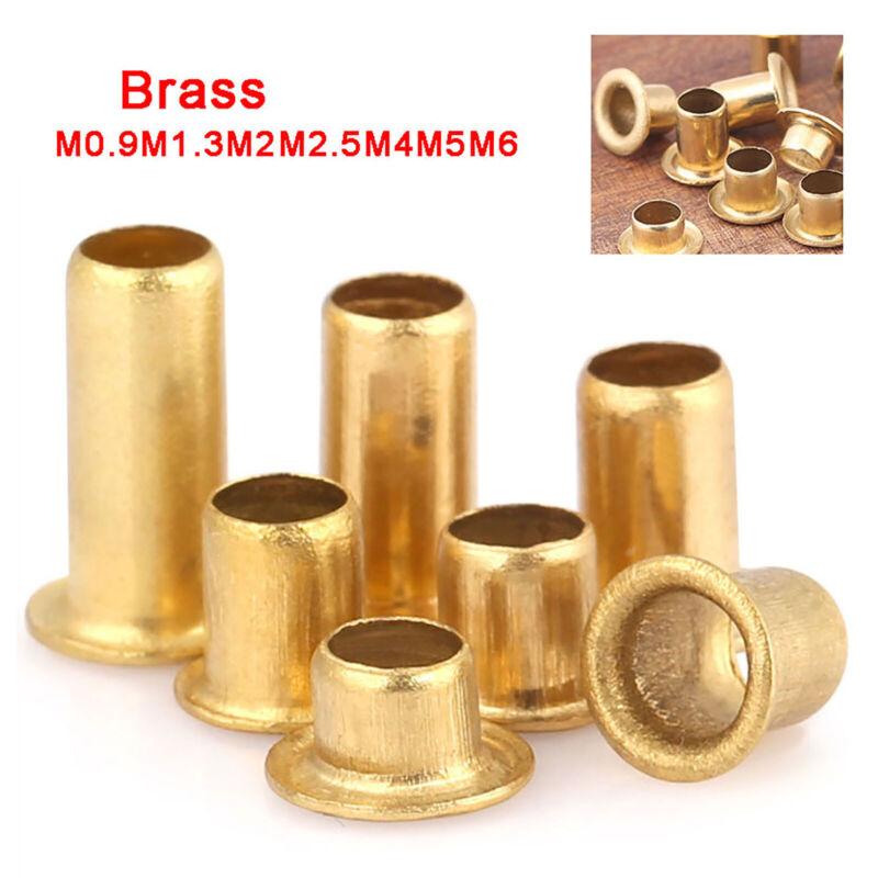 M0.9M2.0M2.3M2.5M3  Brass Tubular Hollow Rivet Eyelets Vias Grommets, PCB Rivet