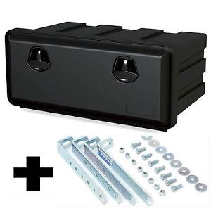 LKW Staukasten Just 750-450 Werkzeugkasten mit Halter, Staubox Daken J065+VH120