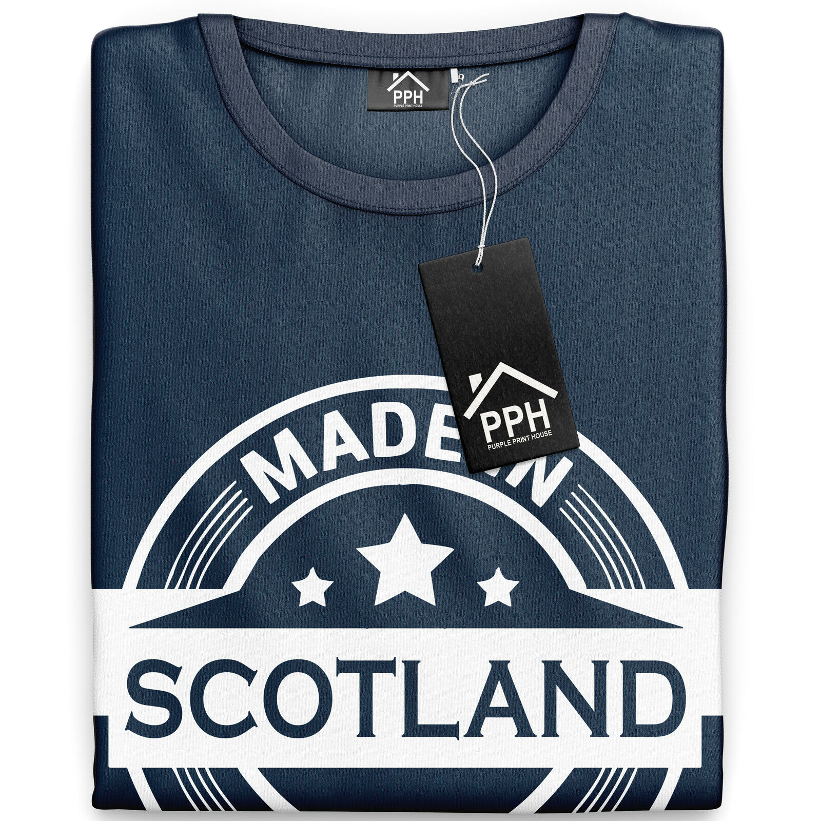 Children/'s Scotland Football Kit With Saltire Design In Navy Size 7-8 Years