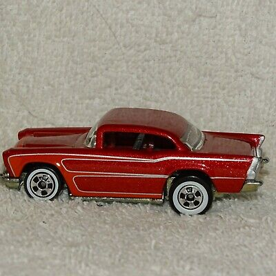 2008 Hot Wheels '57 Chevy, Since '68 Collectors Top 40 set, Red (Bel Air)