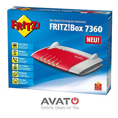 AVM FRITZBox 7360 VDSL DSL VOIP Modem Gigabit Router *2 Jahre Gewährleistung*