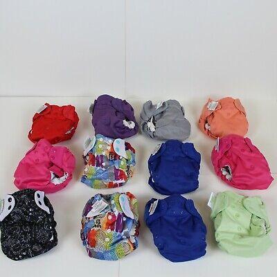 BumGenius Organic Elemental AIO Cloth Diaper Lot Of 12