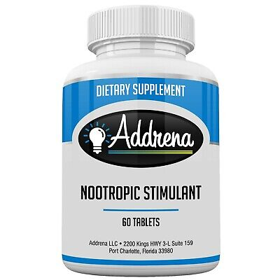 Energy Supplement, energy Pills, and Nootropic Brain Booster Stimulant- Addrena