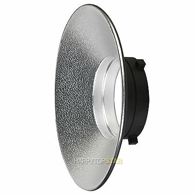 120° Wide Angle Reflector Dish for Bowens Bowen Type for Studio Flash (Angle Reflector)