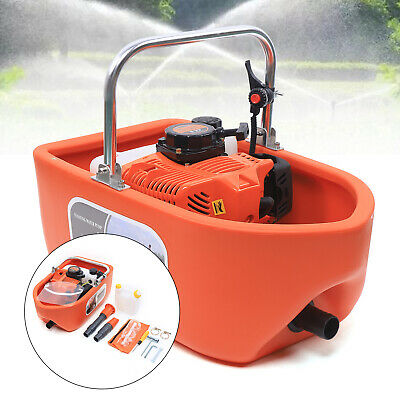 2hp 1.5 Gas Powered Water Pump 15mh Water Transfer High Pressure Irrigation