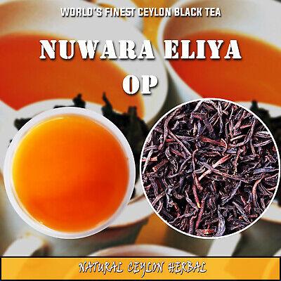 Ceylon Black Tea - Nuwara Eliya OP Sri Lanka -Best Tea with real taste-50g/pouch Sri Lanka Black Tea