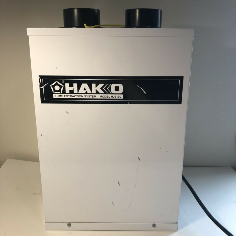 Hakko HJ3100 Fume Extraction System - Tested