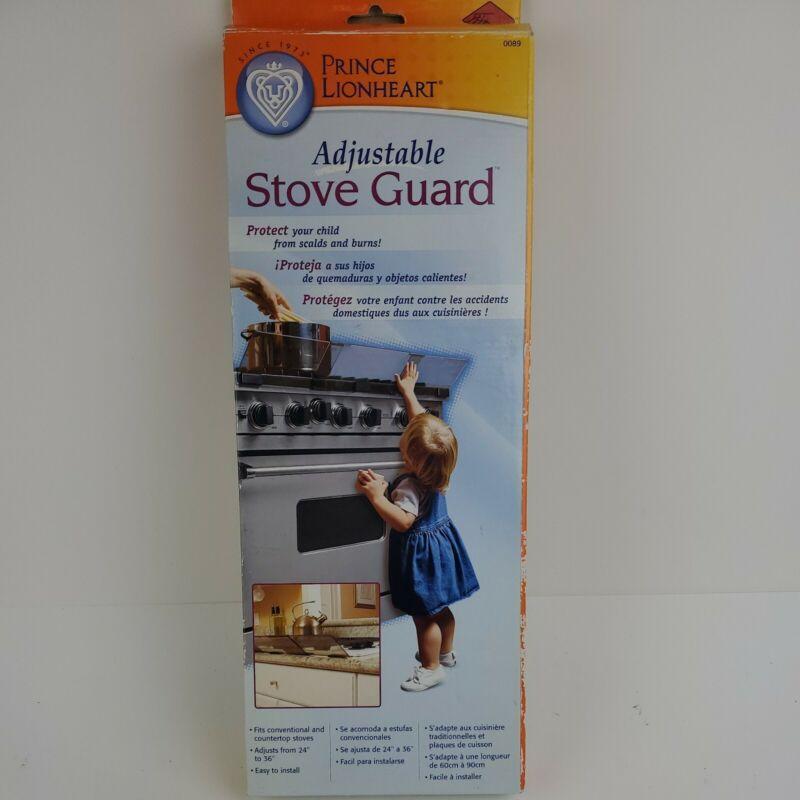 FAST SHIP Prince Lionheart Adjustable Stovetop Oven Stove Child Proof Guard 0089