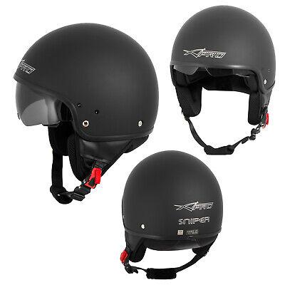 Motorcycle Open Face Classic Jet Helmet  Scooter Inner Sun Visor - Classic Open Face Helmet