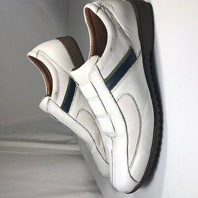 on sale dda82 a4573  30.00. Johnston   Murphy White Leather ...