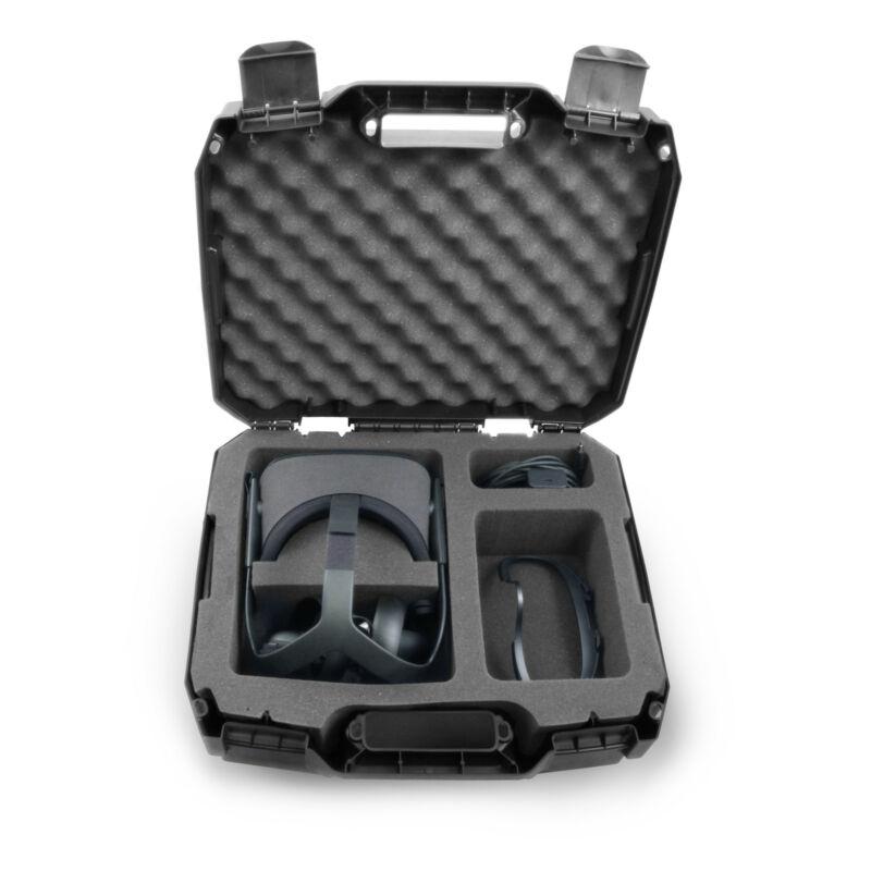 CASEMATIX Hard Shell Travel Case Custom Designed to fit Oculus Quest VR Headset