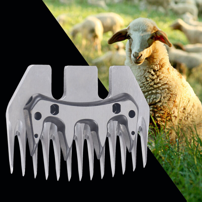 USA 13 Tooth Sheep Blade Goats Shears Clipper Cutter Convex Comb Scissor Parts