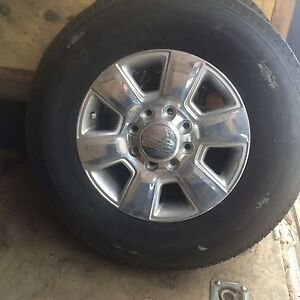 Dodge Ram 3500 rimas and tires.. new 18'