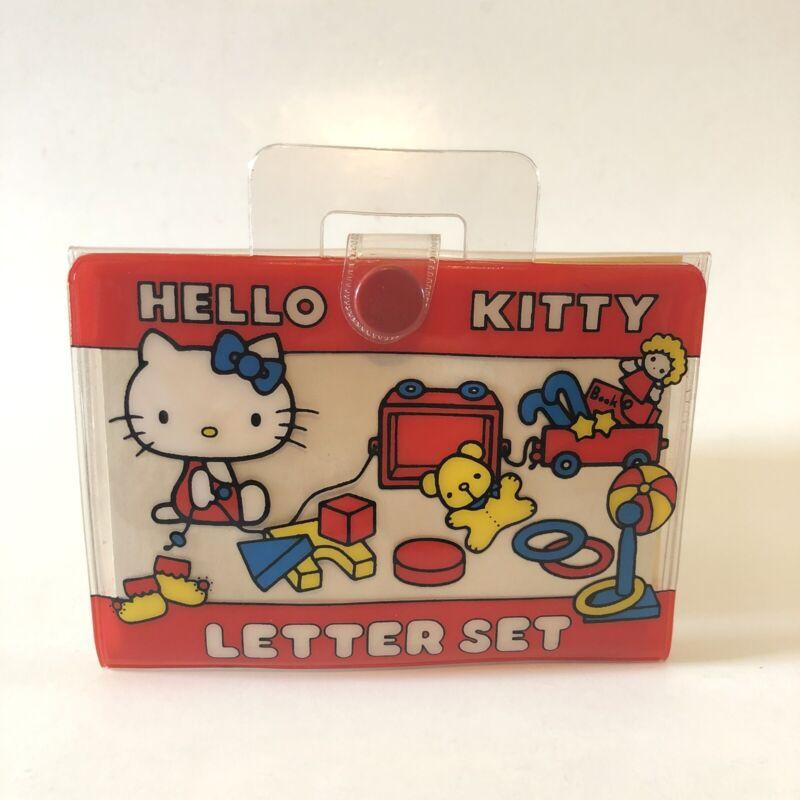 Vintage 1976 Sanrio Hello Kitty Miniature Letter Set