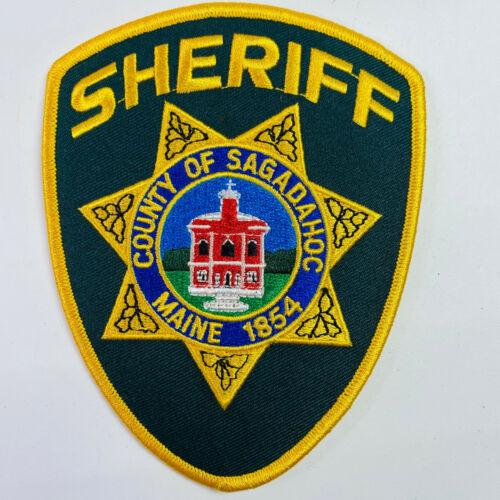 Sagadahoc County Sheriff Maine ME Patch